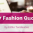 famous fashion quotes