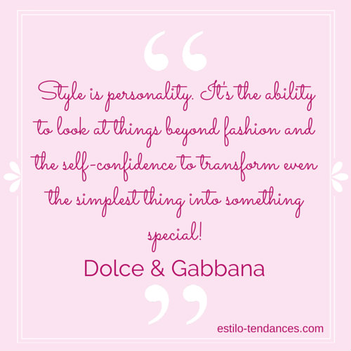 Famous Fashion Quotes by Dolce & Gabbana