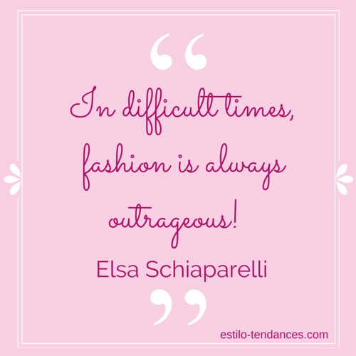 Famous Fashion Quotes by Elsa Schiaparelli