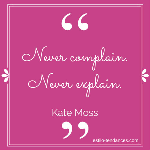 Famous Fashion Quotes by Kate Moss