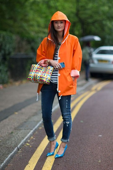 London Fashion Week Street Style 2014 Peony Lim Harpers Bazaar