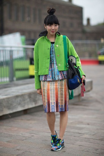 London Fashion Week Street Style 2014 Susie Lau Harpers Bazaar