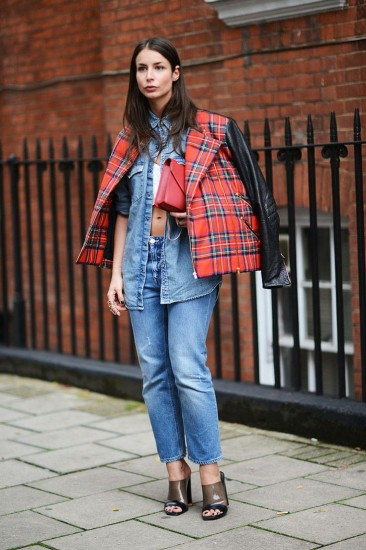 Street Chic London Fashion Week 2014 - London - Elle