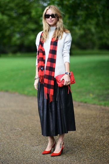 Street Chic London Fashion Week Spring 2014- London Fashion Week Street Style Photos - Elle Pernille Teisbaek