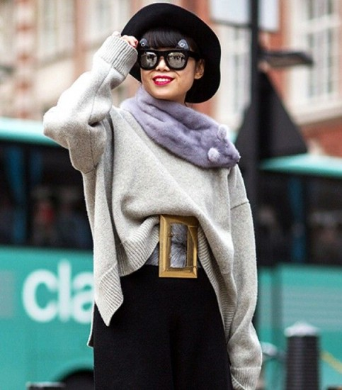 The Latest Street Style Photos From London Fashion Week via Who What Wear 15