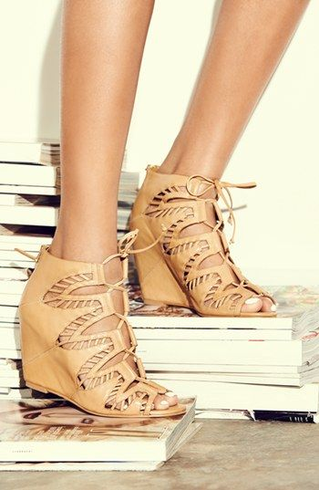 Dolce Vita High Heel Lace Up Sandals